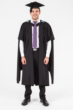 UON Masters Graduation Gown Set - Commerce and Economics - Front view
