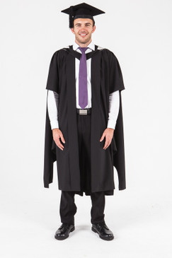 UON Masters Graduation Gown Set - Arts and Social Sciences - Front view