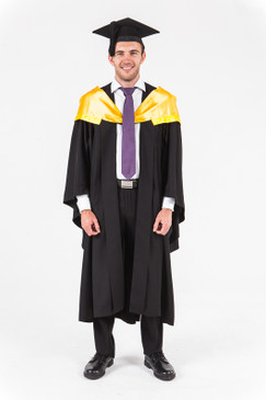 University of Western Australia Honours Graduation Gown Set - Engineering - Front view