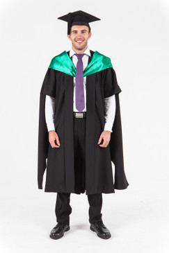 University of Western Australia Masters Graduation Gown Set - Science - Front view
