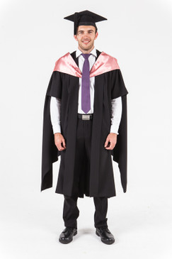 University of Western Australia Masters Graduation Gown Set - Commerce and Economics - Front view