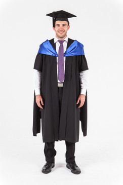 University of Western Australia Masters Graduation Gown Set - Arts - Front view