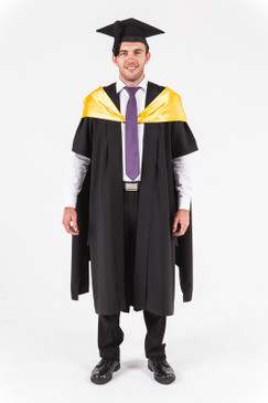 University of Western Australia Masters Graduation Gown Set - Engineering - Front view