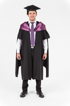 University of Western Australia Masters Graduation Gown Set - Law - Front view