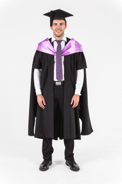 University of Western Australia Masters Graduation Gown Set - MBA - Front view