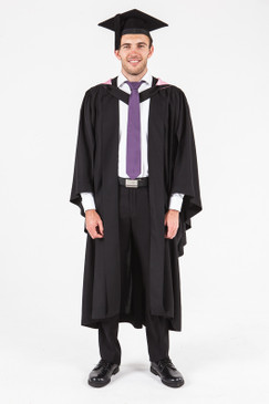 University of Adelaide Bachelor Graduation Gown Set - Health Sciences - Front view