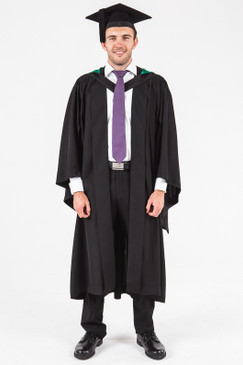 University of Adelaide Bachelor Graduation Gown Set - Creative Arts, Architecture and Building - Front view