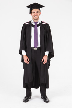 University of Adelaide Honours Graduation Gown Set - Health Sciences - Front view