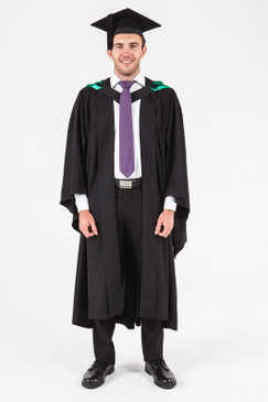 University of Adelaide Honours Graduation Gown Set - Creative Arts, Architecture and Building - Front view
