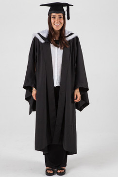 University of Sydney Bachelor Graduation Gown Set - Arts - Front view