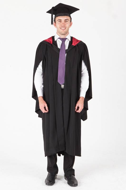 University of Sydney Bachelor Graduation Gown Set - Engineering - Front view