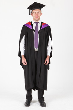 University of Sydney Bachelor Graduation Gown Set - Medicine - Front view