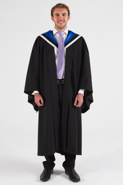 University of Melbourne Bachelor Graduation Gown Set - Arts - Front view