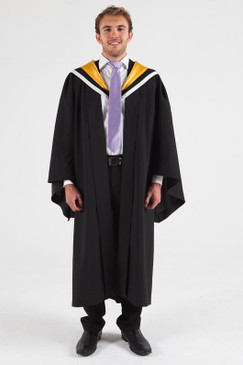 University of Melbourne Bachelor Graduation Gown Set - Environments - Front view