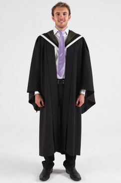 University of Melbourne Bachelor Graduation Gown Set - Science - Front view