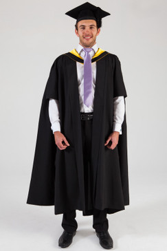 University of Melbourne Masters Graduation Gown Set - Engineering - Front view