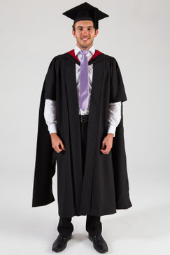 University of Melbourne Masters Graduation Gown Set - Medicine - Front view