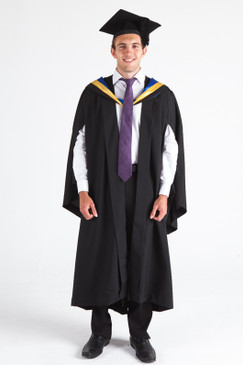 JCU Bachelor Graduation Gown Set - Honours - Front view