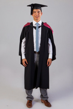 QUT Bachelor Graduation Gown Set - Creative Industries