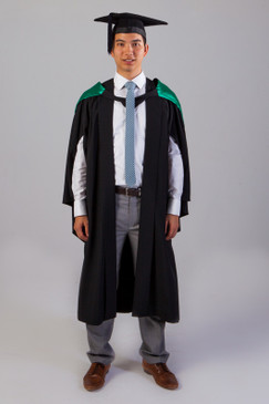 QUT Bachelor Graduation Gown Set - Education - Front view