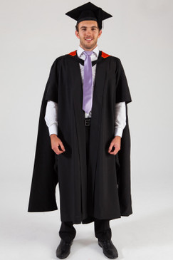 QUT Masters Graduation Gown Set - Health - Front view