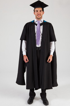 QUT Masters Graduation Gown Set - Science and Engineering - Front view
