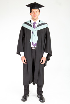 Bachelor Graduation Gown Set for UTS - Business - Front view