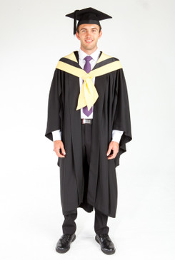 Bachelor Graduation Gown Set for UTS - Design, Architecture, Building - Front view