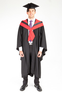Bachelor Graduation Gown Set for UTS - Engineering - Front view