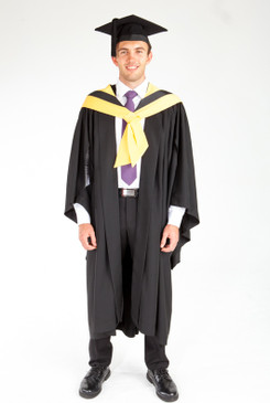 Bachelor Graduation Gown Set for UTS - Science - Front view