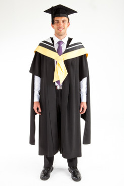 Masters Graduation Gown Set for UTS - Design, Architecture, Building - Front view