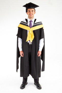 Masters Graduation Gown Set for UTS - Science - Front view