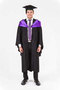 UniSA Bachelor Graduation Gown Set - Education - Front view