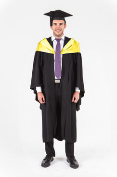 UniSA Bachelor Graduation Gown Set - Society and Culture - Front view
