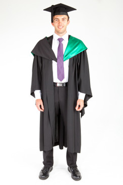 ACU Bachelor Graduation Gown Set - Education and Arts - Front view