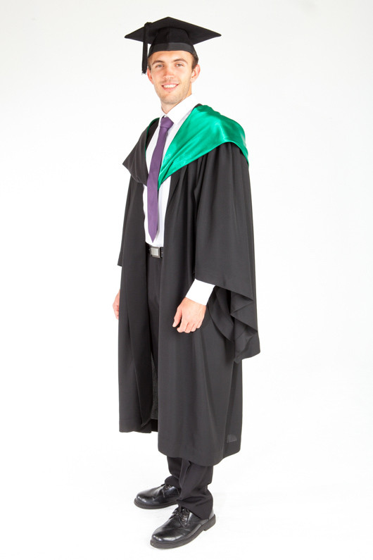 Acu Bachelor Graduation Gown Set Education And Arts Gowntown