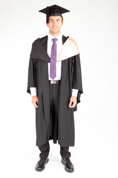 ACU Bachelor Graduation Gown Set - Health Sciences - Front view