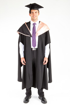 ACU Masters Graduation Gown Set - Health Sciences - Front view