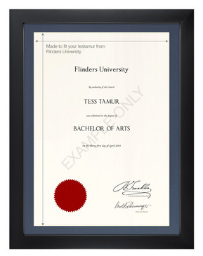 Degree Certificate Frame for Flinders University