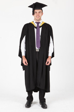 ANU Bachelor Graduation Gown Set - Business and Economics - Front view