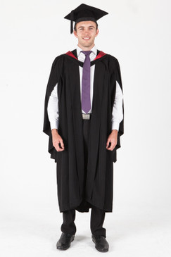 ANU Bachelor Graduation Gown Set - Engineering and Computer Science - Front view