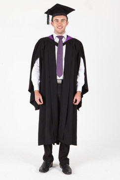 ANU Bachelor Graduation Gown Set - Law - Front view