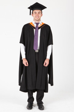 ANU Masters Graduation Gown Set - Asia and the Pacific - Front view
