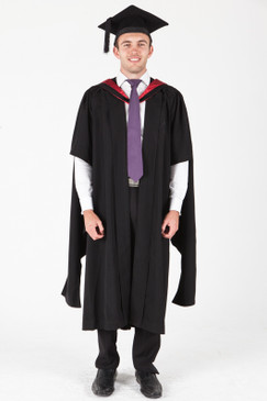 ANU Masters Graduation Gown Set - Engineering and Computer Science - Front view