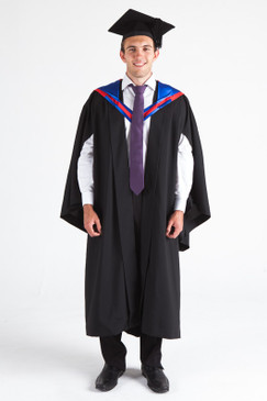 CSU Bachelor Graduation Gown Set - Business - Front view