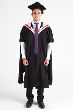 CSU Masters Graduation Gown Set - Arts - Front view