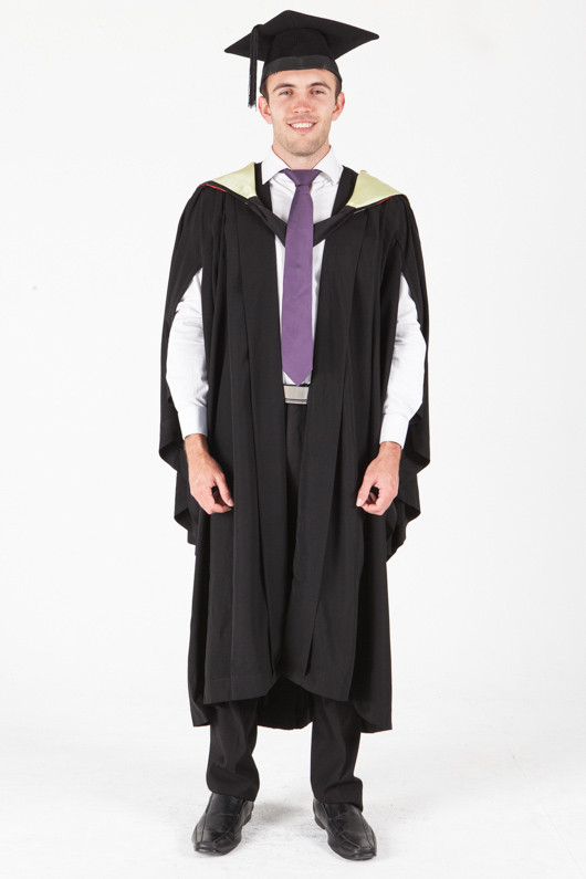 University of Sydney Bachelor Graduation Gown Set - Medical Science - Front view