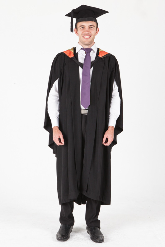 University of Sydney Bachelor Graduation Gown Set - International and Global Studies - Front view