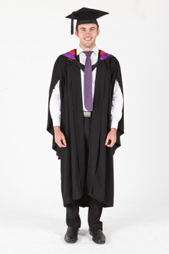 University of Sydney Bachelor Graduation Gown Set - Visual Arts - Front view