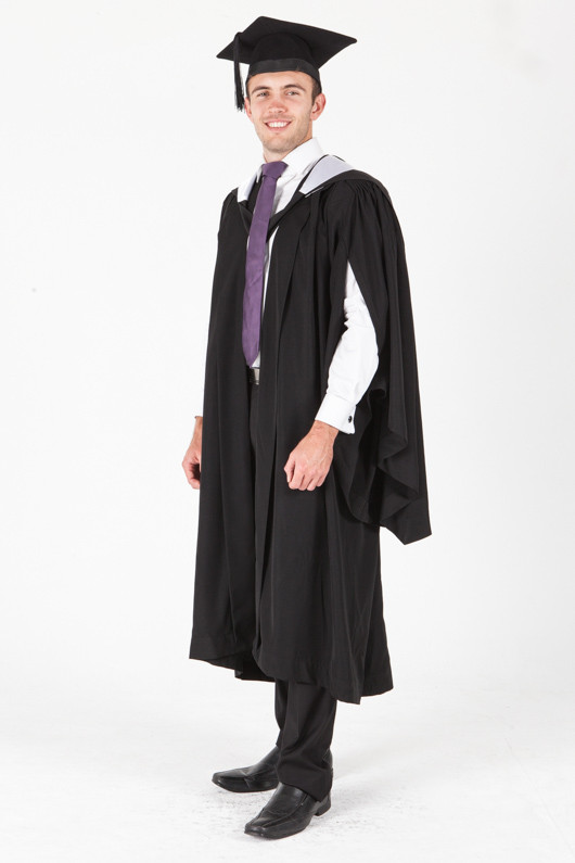 University of Sydney Bachelor Graduation Gown Set - Education - Front angle view